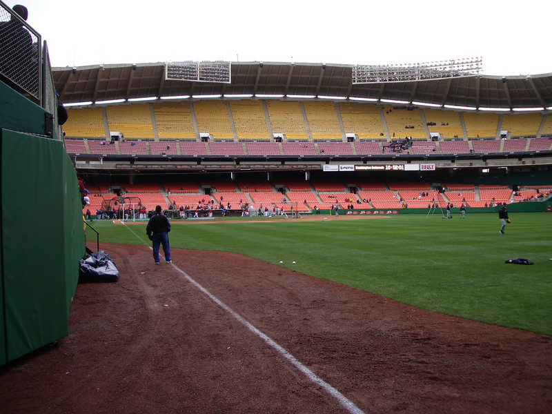 nats first exhibition game in RFK (4).jpg
