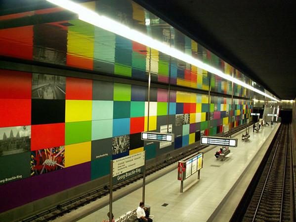 Georg-Brauchle Ring Station, Munich..jpg