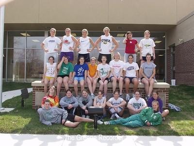 Girls track team pics