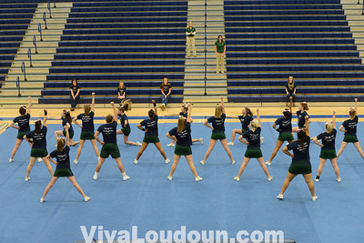 Cheer: 2013 Conference 28 Cheerleading Championship 10.26.13 (by Chas Sumser)
