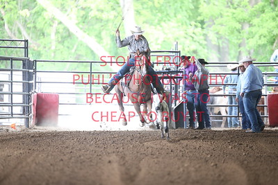 sat PM 2. Tie down roping