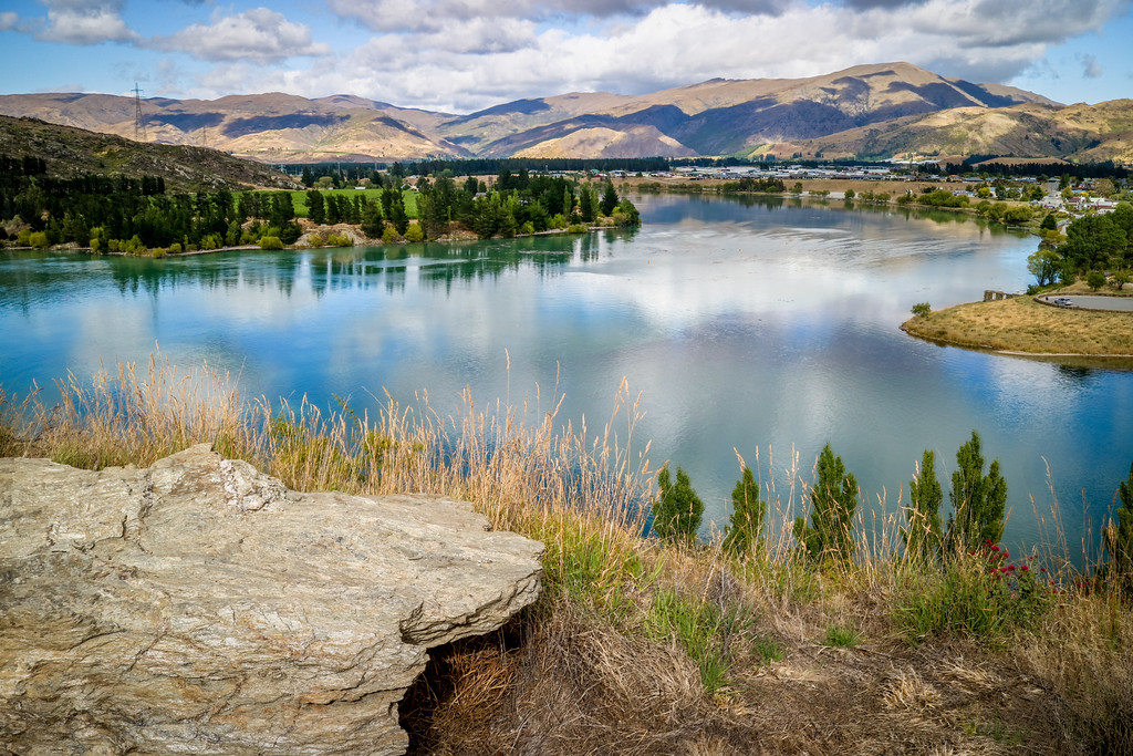 Lake Dunstan, Cromwell, New Zealand