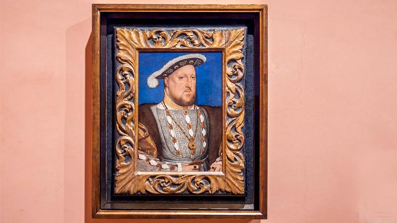 02030 Hans Holbein el Joven 1537 Portrait of Henry VIII of England 16x9.jpg
