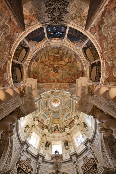 San Luis de los Franceses ceiling