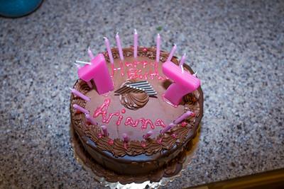 Arianna's Birthday
