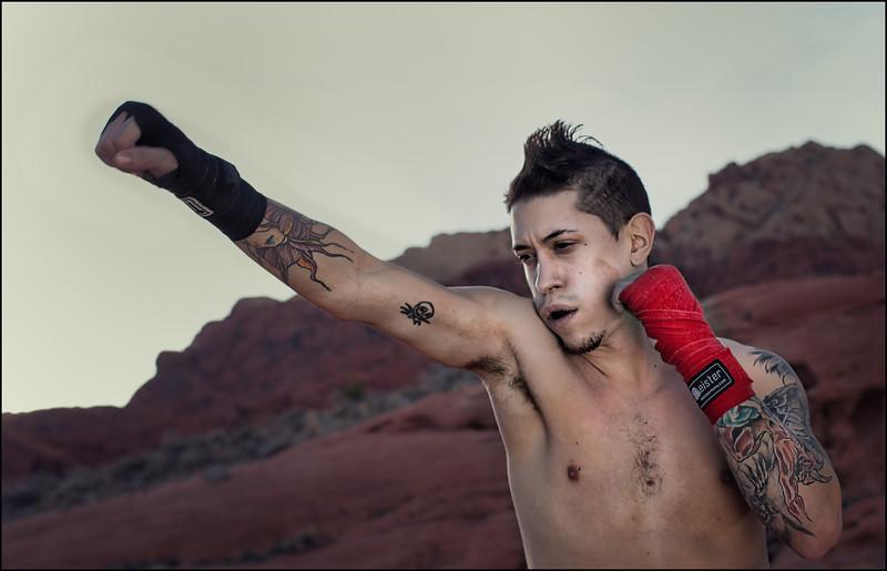 Anthony Castrejon, Muay Thai Fighter.