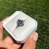 1.41ctw Art Deco Style Aqua and Diamond Dinner Ring 35