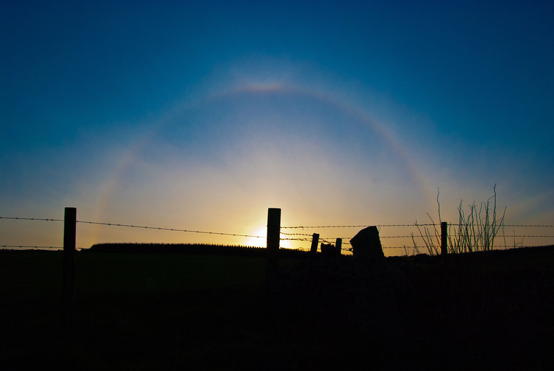 [Week 16: 16th - 22nd April] Saw this while out for a walk with the dogs. It appears to be a Solar halo.