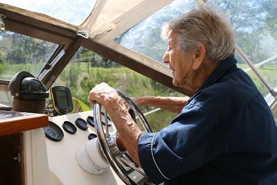 2007-06-23: Boat Ride with Nana