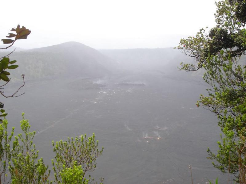 Fog covering Hawaii