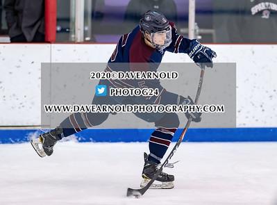 2/5/2020 - Boys Varsity Hockey - Lawrence Academy vs Belmont Hill