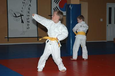 02-02-05 Taekwondo Orange Belt