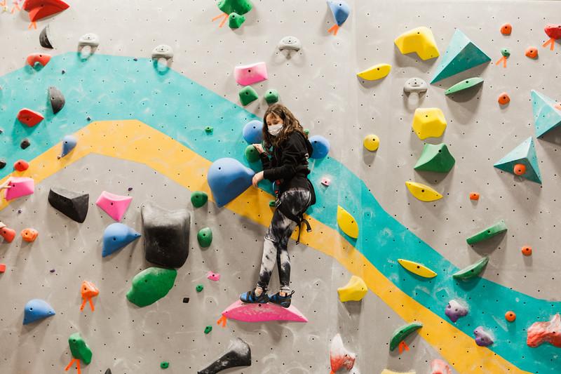 Climbing - Yelaina's BDay!
