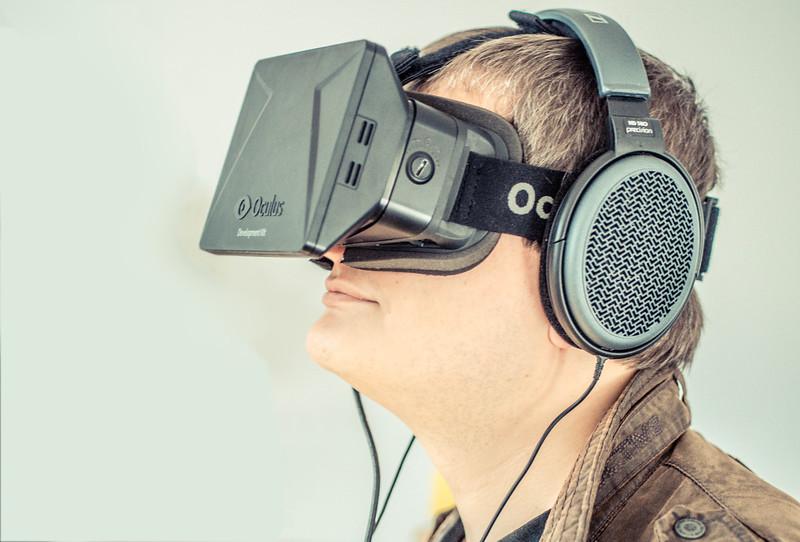 Maxim Kapinus and Oculus Rift