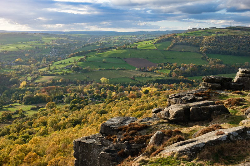 Autumn Curbar Edge