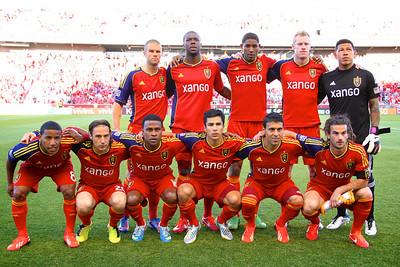 Real Salt Lake vs Los Angeles Galaxy 6-8-2013