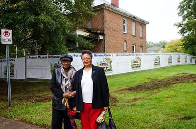 JCSU Davis House Groundbreaking 10-13-11 by Jon Strayhorn