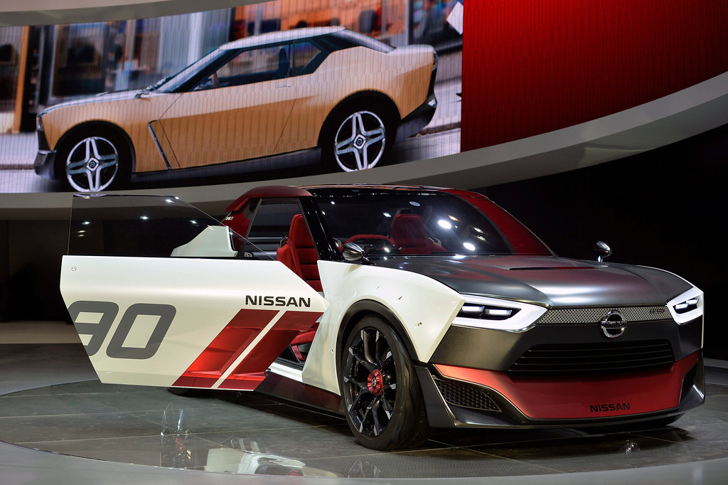 . Nissan Motor Co. IDx NISMO concept car is displayed at the 43rd Tokyo Motor Show 2013 in Tokyo, Japan, 20 November 2013. The event will be open to the public from 22 November to 01 December 2013.  EPA/FRANCK ROBICHON