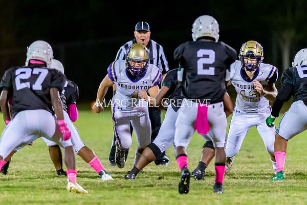 Broughton Varsity football at Southeast Raleigh. October 4, 2019. D4S_5317