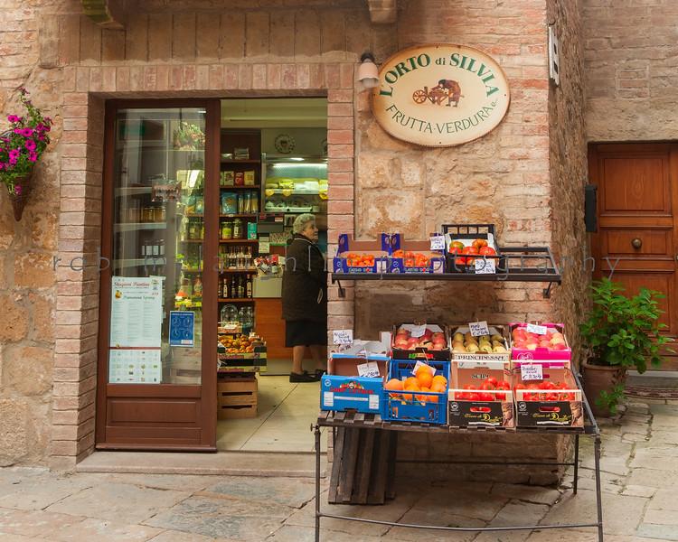 L'Orto di Silvia , Pienza , Tuscany