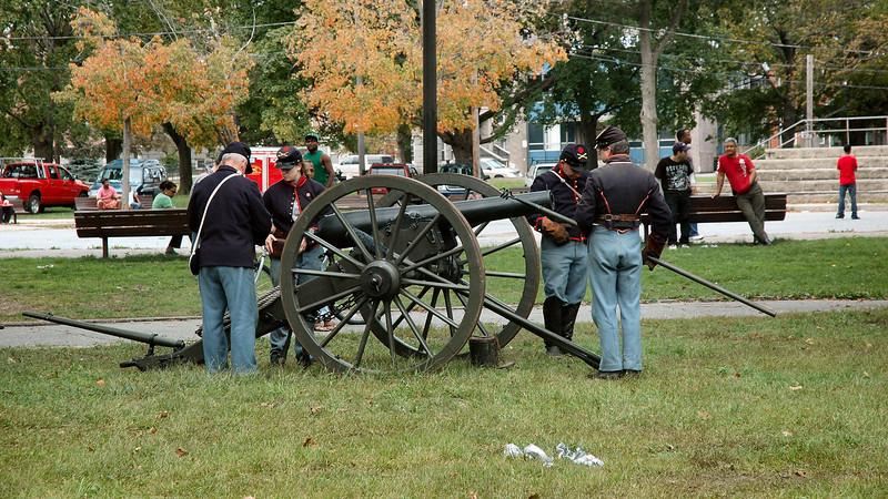 Lawrence 2011 Civil War Encampment