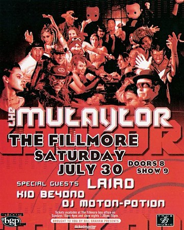 The Mutaytor - 7/30/05 - The Fillmore, San Francisco