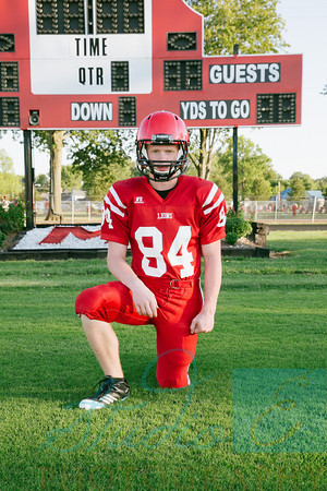 Football Sportraits: Wyatt Taylor