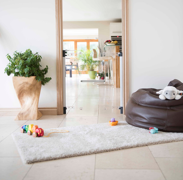 Fred_Stairgates_Screw_Fit_Clear_view_Gate_Lifestyle_carpet_plant_bean_bag.jpg