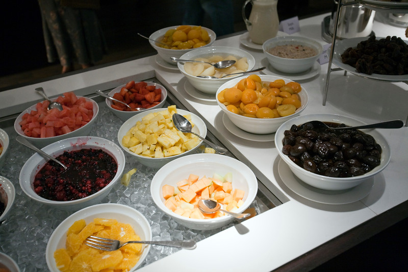 Fruits included in a breakfast buffet, Dublin, Ireland