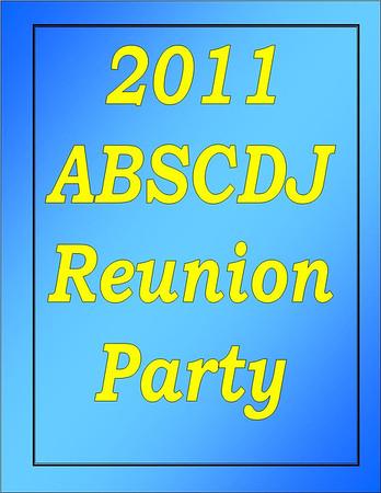 2011 ABSCDJ Assoc Reunion Party