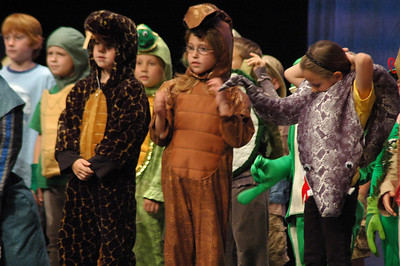 First Grade Reptile Play