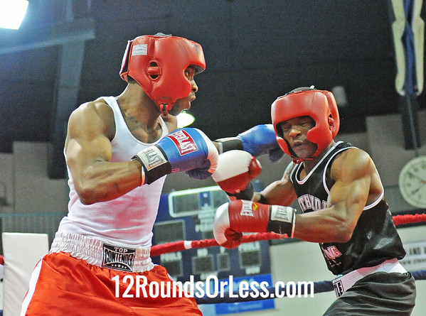Marco Hall (Southside B.C.) vs William Flenoy (Thurgood PAL)  132 Pound-Open  Bout # 4