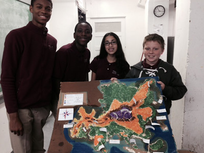 2015 8th Grade Mapping the World by Heart