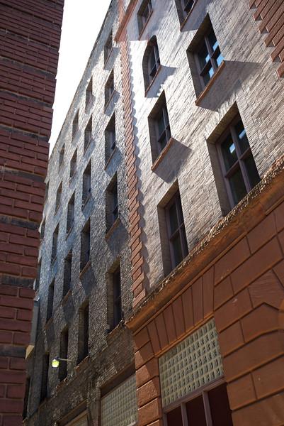 Low angle view of buildings, Minneapolis, Hennepin County, Minnesota, USA
