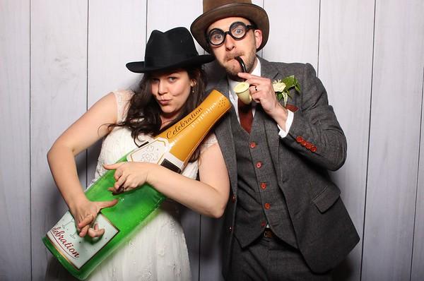 Kate and Mark's wedding