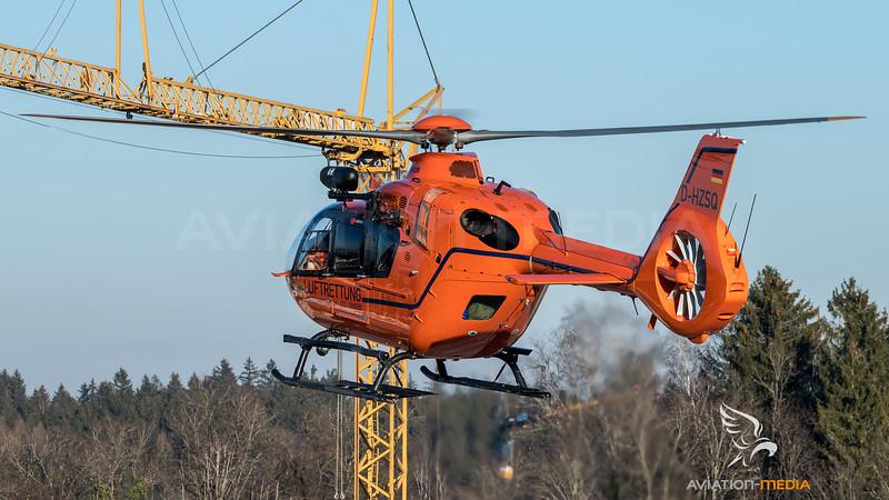 Bundesministerium des Inneren Christoph 14 / Airbus Helicopters H135 / D-HZSQ