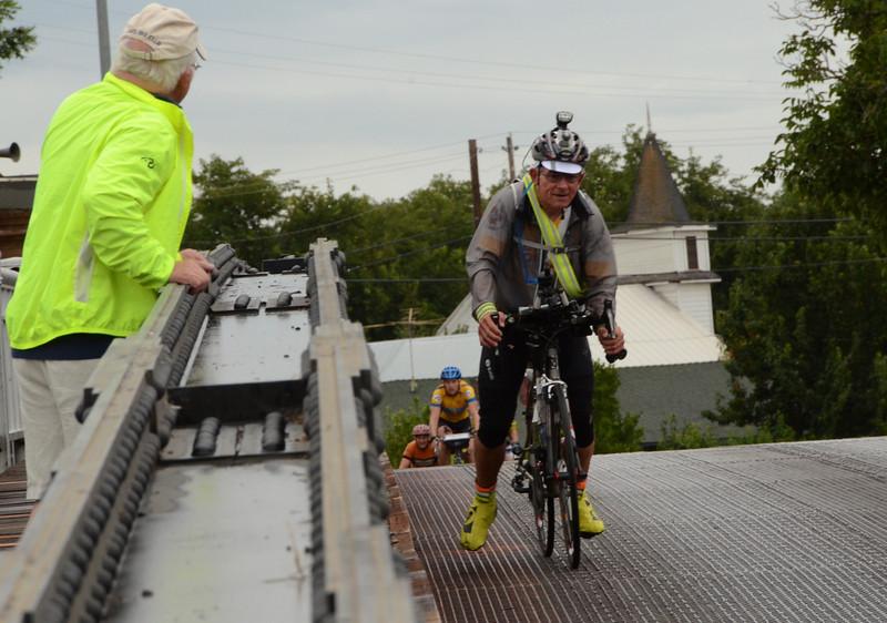 Ken Bonner (riding his fourth GRR)