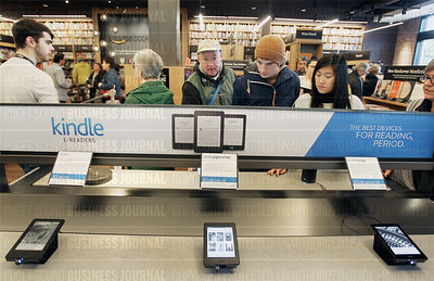 Amazon Books opens its first store which is located at University Village in Seattle, Washington