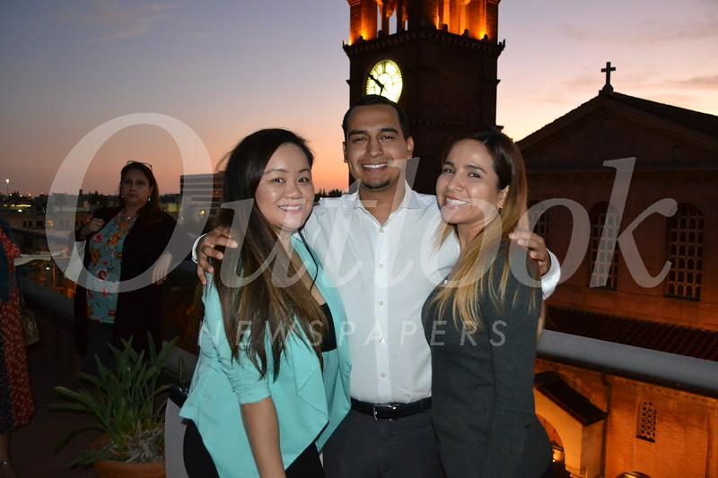 Jane Tran, Christian Carreon and April Reyes
