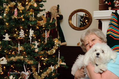 2009-12-24 Carol and Bradley