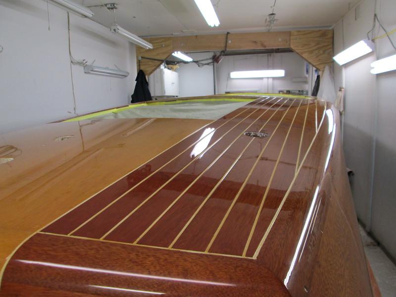 Starboard rear deck.