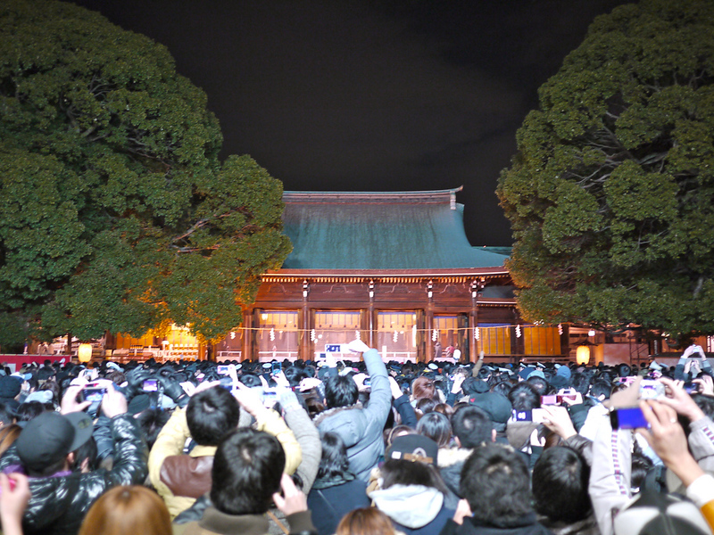 Hatsumoude, New Year's Visits to Shrine