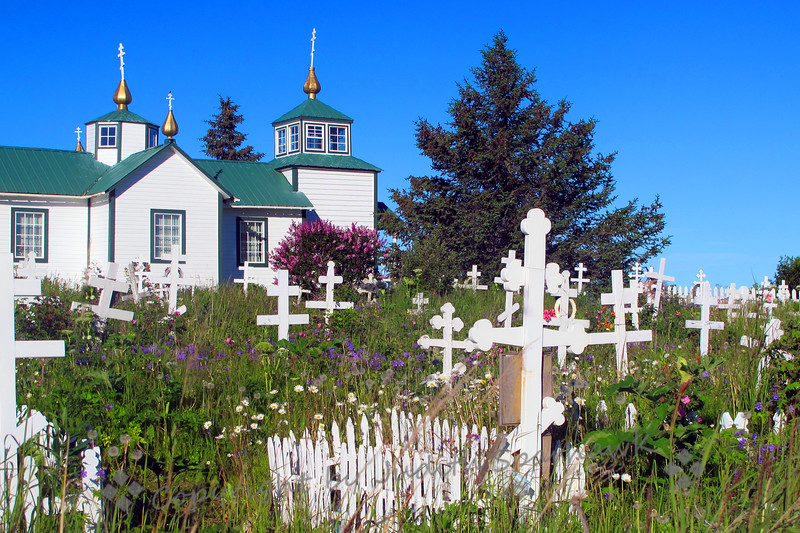 Church in Ninilchik, Alaska - Judith Sparhawk