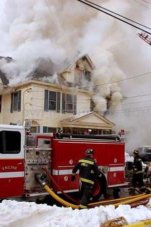 Lowell, MA - 2nd Alarm - 23 Burtt St - 1/17/08