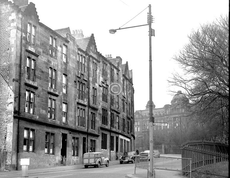 John Knox St, west side above Wishart St.    April 1973