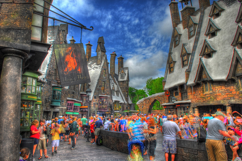 The Wizarding World of Harry Potter HDR image by John Shippee Photography.