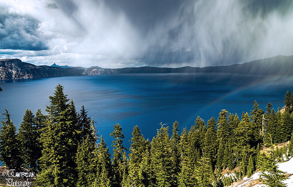 Crater Lake Snow Storm