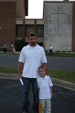Aiden's Pre-school Graduation 2012