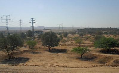 Masada and Dead Sea area