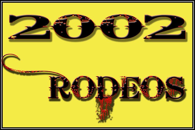 2002 RODEOS